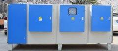 臭气处理设备的除臭效率可达99%以上